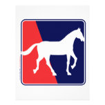 RWB-Horse Customized Letterhead