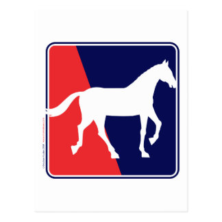 RWB-Horse Postcard