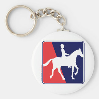 RWB-HORSE-RIDER KEYCHAIN