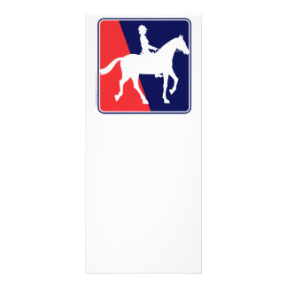 RWB-HORSE-RIDER RACK CARD