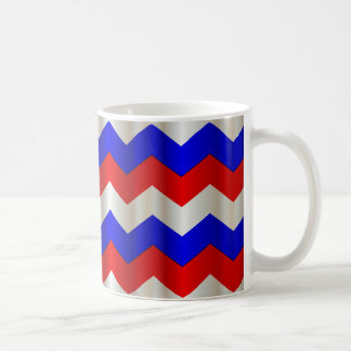 RWB metallic chevron Coffee Mug