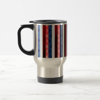 RWB stripes Travel Mug