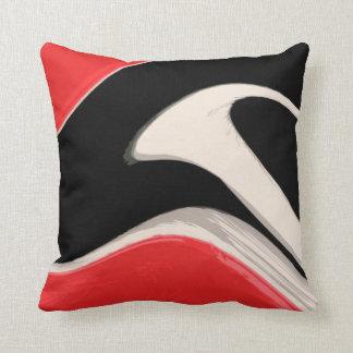 RWB Swipe Throw Pillow