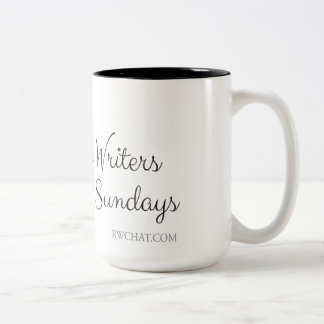 #RWChatters do it on Sundays Two-Tone Coffee Mug