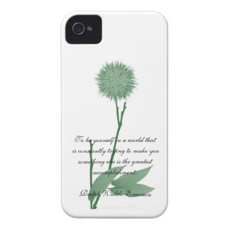 RWE Quotes Simply Green Blackberry Case