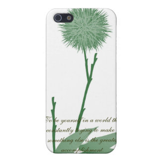 RWE Quotes Simply Green Iphone Case
