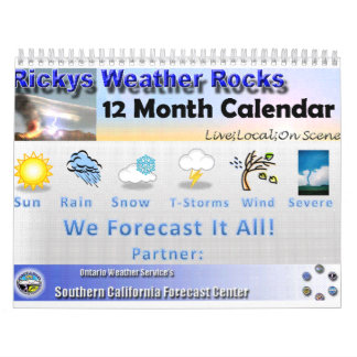 RWR Weather Pictures Calendar