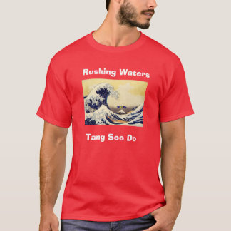 RWTSD T Shirt, Rushing Waters, Tang Soo Do T-Shirt