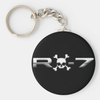 RX7 with a skull Keychain