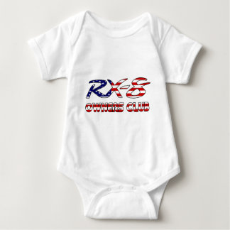 RX8 Owners Patriotic USA.png Baby Bodysuit