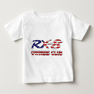 RX8 Owners Patriotic USA.png Baby T-Shirt