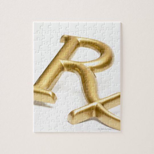 Rx drug sign jigsaw puzzle