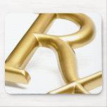 Rx drug sign mouse pad