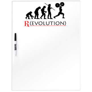 RX Evolution Chart Large Dry Erase Board