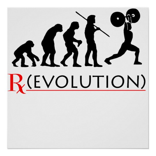 Rx Evolution Chart Poster Print