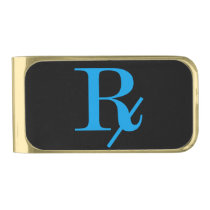 Rx for the Sole Gold Finish Money Clip