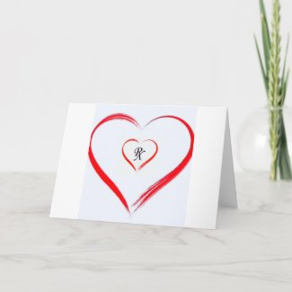 RX LOVE GREETING CARD