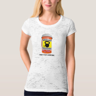 Rx Pill Bottle Take Your Medicine Ladies T-Shirt