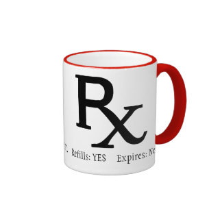 Rx Prescription Coffee Mug