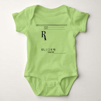 Rx Prescription Pad - Write Your Own Prescription! Baby Bodysuit