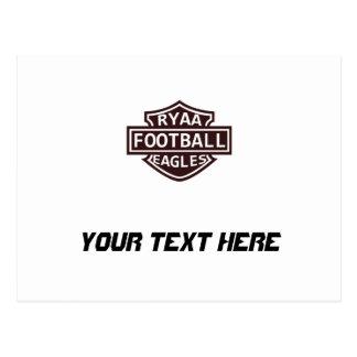 RYAA Football Postcard