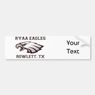 RYAA Logo Gear Bumper Sticker