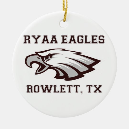 RYAA Logo Gear Ceramic Ornament
