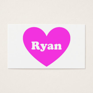 Ryan Business Card