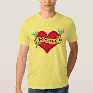 Ryan - camisetas y regalos de encargo del tatuaje camisas