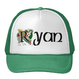 Ryan Celtic Dragon Cap Trucker Hat