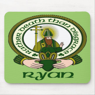 Ryan Clan Motto Mouse Pad