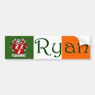 Ryan Coat of Arms Bumper Sticker