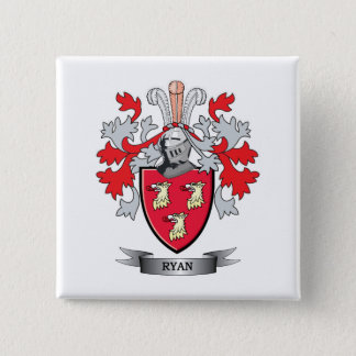 Ryan Coat of Arms Button
