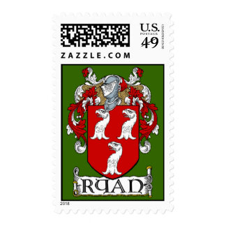 Ryan Coat of Arms Postage Stamp