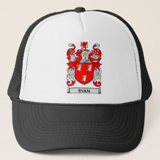 RYAN Coat of Arms Trucker Hat
