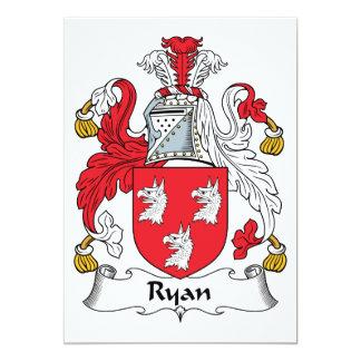 Ryan Family Crest Card