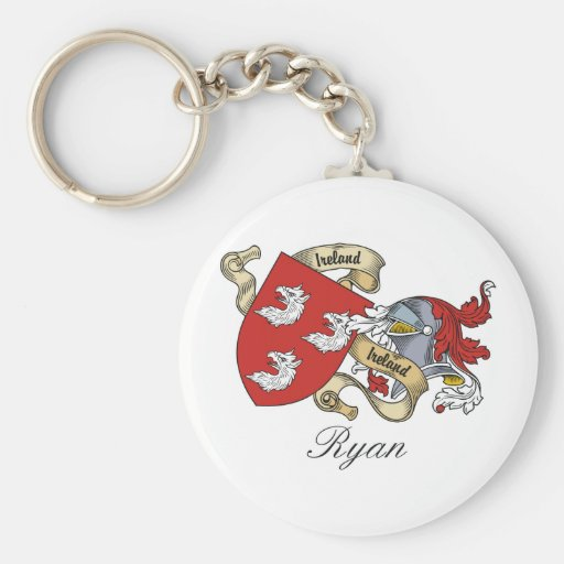 Ryan Family Crest Keychain