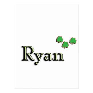 Ryan Irish Postcard