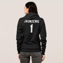 RYAN JAUNZEMIS #1 Sports-Jersey Style Full-Zip Hoodie