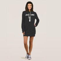 RYAN JAUNZEMIS #1 Sports-Jersey Style Hoodie Dress