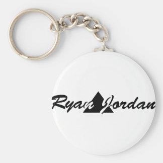 Ryan Jordan Fan Merchandise Basic Round Button Keychain