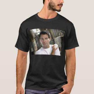 Ryan Kelly Music - Basic T Black - Plain White T T-Shirt