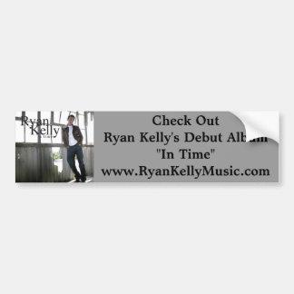 Ryan Kelly Music - Bumper Sticker - Album Car Bumper Sticker