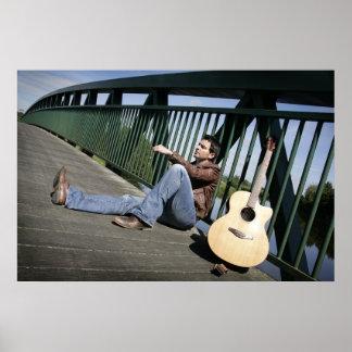 Ryan Kelly Music  - Poster - Guitar