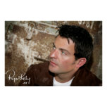 """Ryan Kelly Music - Poster- Leather Jacket-""""Signed"""""""