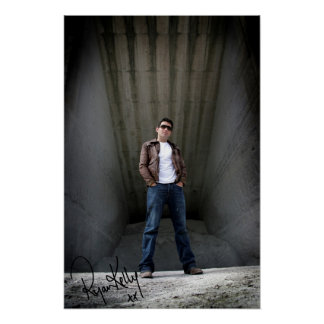 "Ryan Kelly Music - Poster ""signed"" - Warehouse"