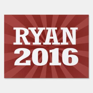 Ryan - Paul Ryan 2016 Letrero