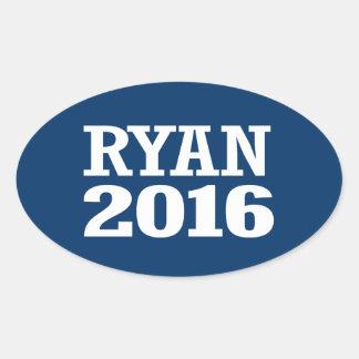 Ryan - Paul Ryan 2016 Pegatina Ovalada