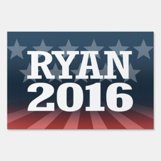 Ryan - Paul Ryan 2016 Yard Sign
