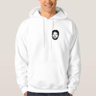 ryan the face staying warm hooded sweatshirt